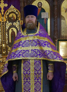 Настоятель храма Всех Преподобных Отцев Киево-Печерских Иерей Алексей Петухов