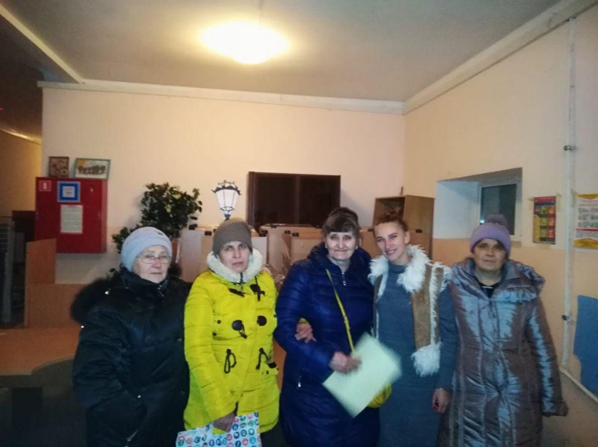 Гуманитарную помощь в Хитровщинский дом милосердия отправили волонтеры храма Живоначальной Троицы в Старых Черемушках